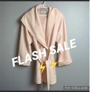 FLASH SALE LONDON FOG  pink hooded jacket Size 10